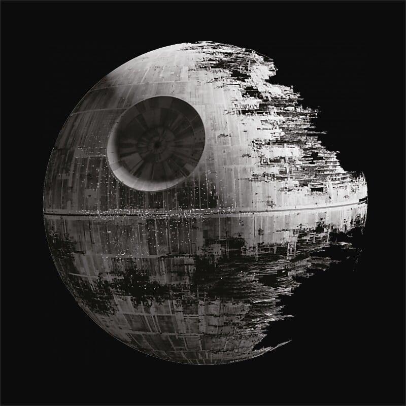 Death Star Photo Póló - Ha Star Wars rajongó ezeket a pólókat tuti imádni fogod!
