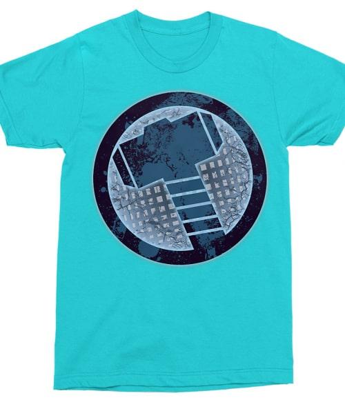 Thor logo Póló - Ha Thor rajongó ezeket a pólókat tuti imádni fogod!