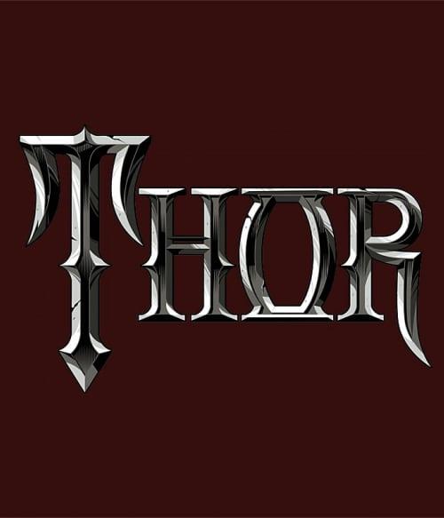 Thor text Póló - Ha Thor rajongó ezeket a pólókat tuti imádni fogod!