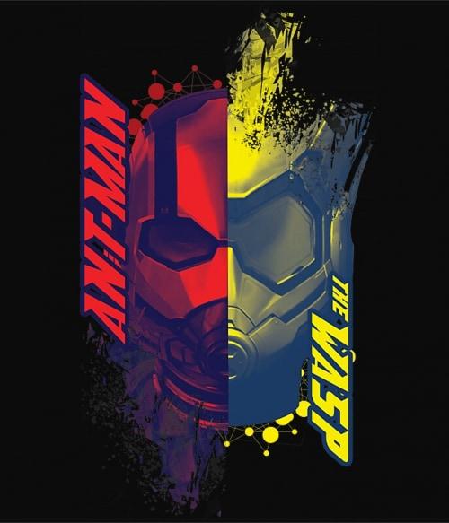 Antman and Wasp faces Póló - Ha Antman rajongó ezeket a pólókat tuti imádni fogod!