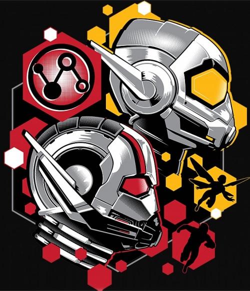 Antman red and yellow Póló - Ha Antman rajongó ezeket a pólókat tuti imádni fogod!
