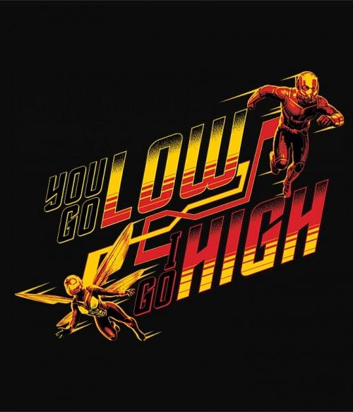 Low and high Póló - Ha Antman rajongó ezeket a pólókat tuti imádni fogod!