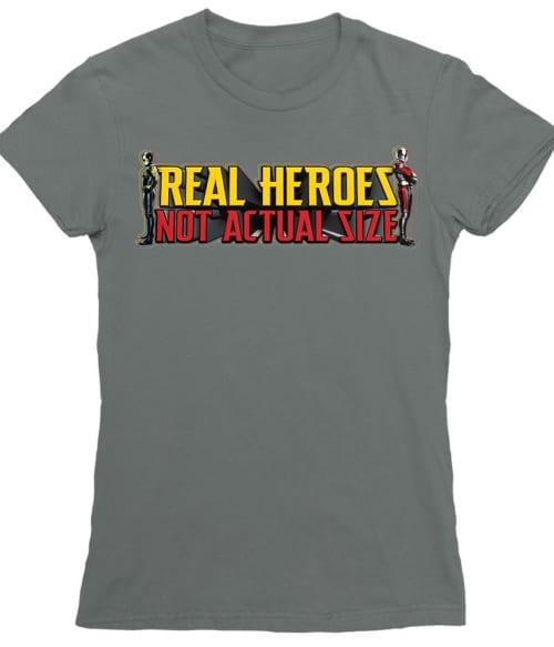 Real heroes Póló - Ha Antman rajongó ezeket a pólókat tuti imádni fogod!