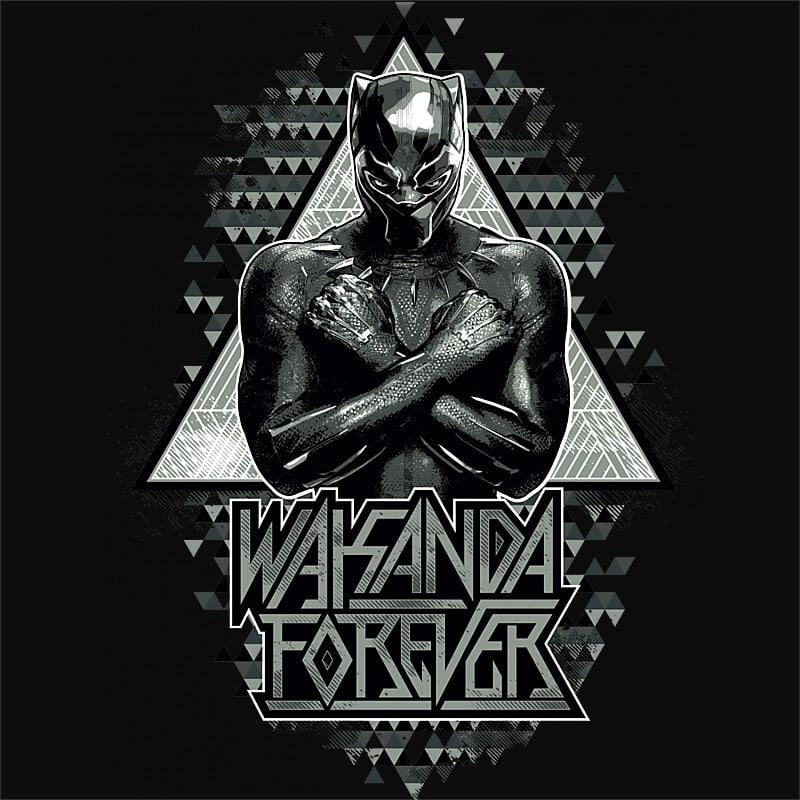 Wakanda triangles Póló - Ha Black Panther rajongó ezeket a pólókat tuti imádni fogod!
