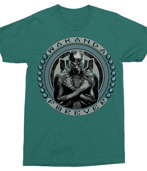 Wakanda forever - Black Panther Póló - Ha Black Panther rajongó ezeket a pólókat tuti imádni fogod!