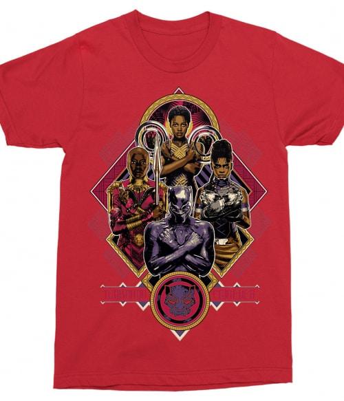 Team Wakanda Póló - Ha Black Panther rajongó ezeket a pólókat tuti imádni fogod!