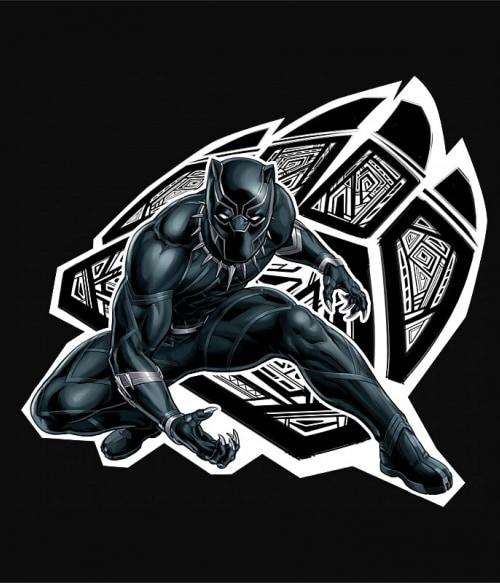 Panther Paw Póló - Ha Black Panther rajongó ezeket a pólókat tuti imádni fogod!
