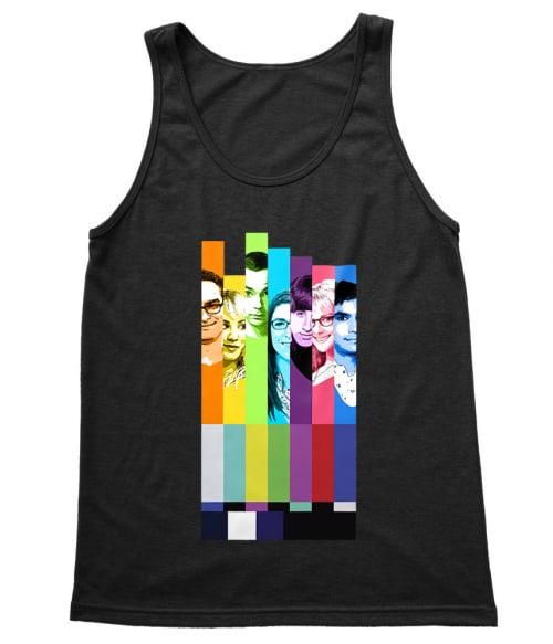 The Big Bang Theory Colors Póló - Ha The Big Bang Theory rajongó ezeket a pólókat tuti imádni fogod!