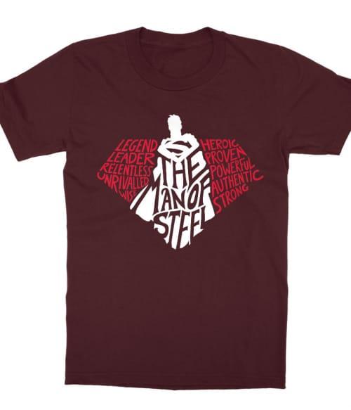 Superman words Póló - Ha Superman rajongó ezeket a pólókat tuti imádni fogod!