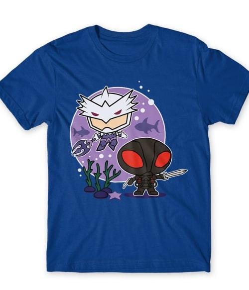 Black Manta Chibi Póló - Ha Aquaman rajongó ezeket a pólókat tuti imádni fogod!