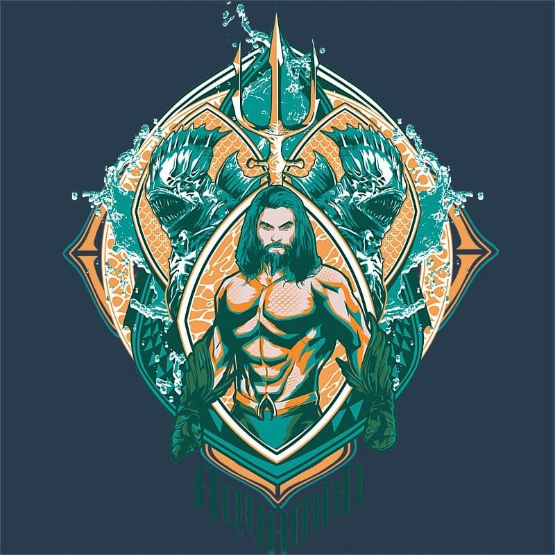 4b7eac4950 Aquaman Logo Póló - Aquaman