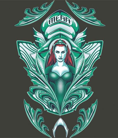 Mera Badge Póló - Ha Aquaman rajongó ezeket a pólókat tuti imádni fogod!