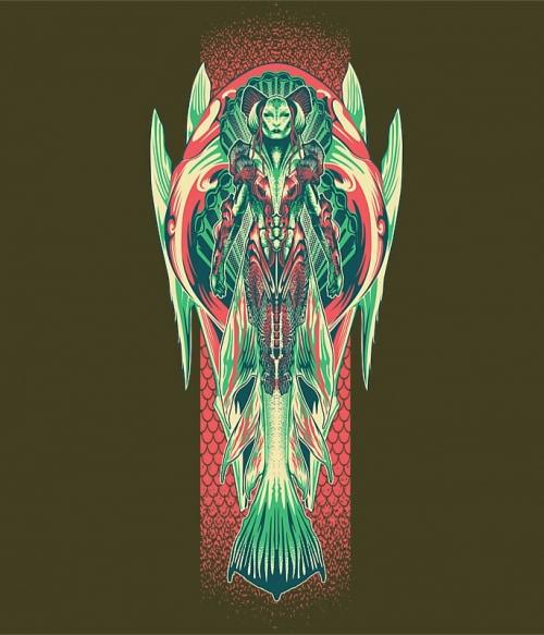 Siren Póló - Ha Aquaman rajongó ezeket a pólókat tuti imádni fogod!