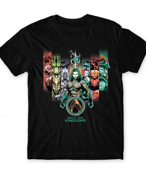 Unite The Kingdoms Póló - Ha Aquaman rajongó ezeket a pólókat tuti imádni fogod!