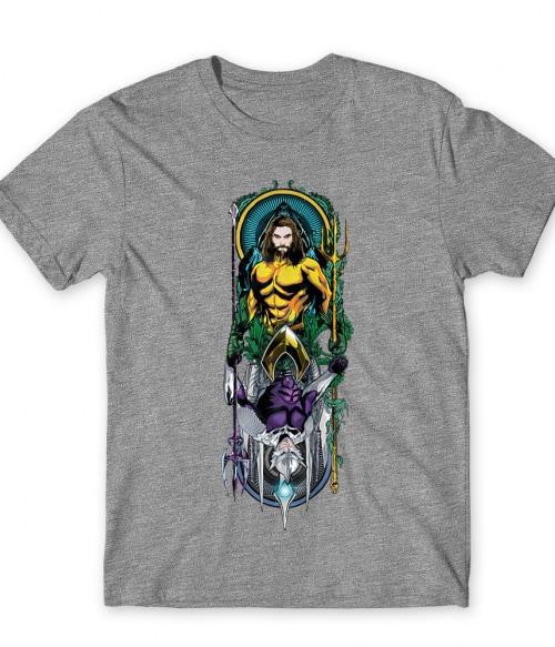 Aquaman and Ocean Master Póló - Ha Aquaman rajongó ezeket a pólókat tuti imádni fogod!