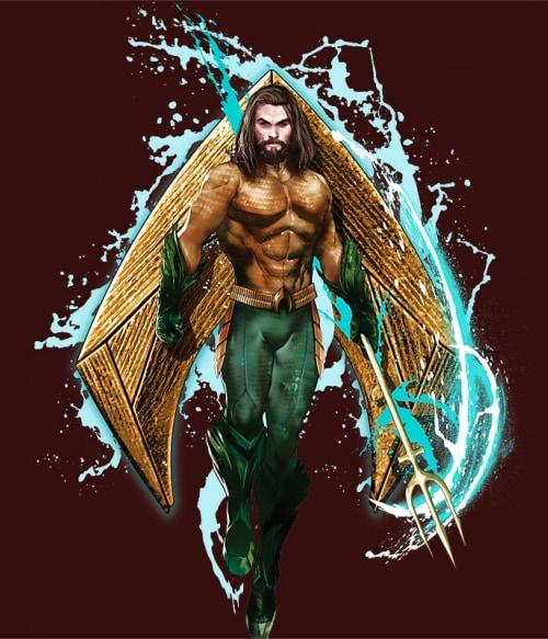 Aquaman Logo Póló - Ha Aquaman rajongó ezeket a pólókat tuti imádni fogod!