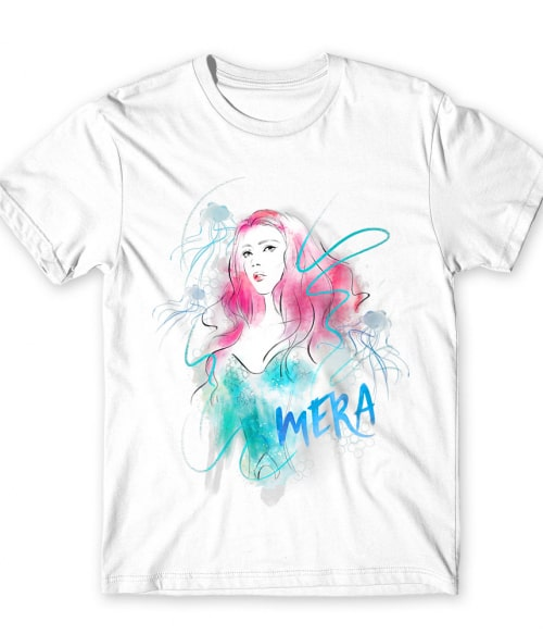 Mera Aquarell Style Póló - Ha Aquaman rajongó ezeket a pólókat tuti imádni fogod!