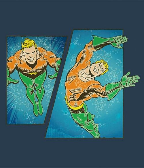 Aquaman Comic Póló - Ha Aquaman rajongó ezeket a pólókat tuti imádni fogod!
