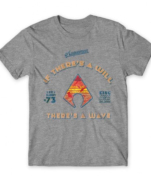 King of Atlantis Póló - Ha Aquaman rajongó ezeket a pólókat tuti imádni fogod!