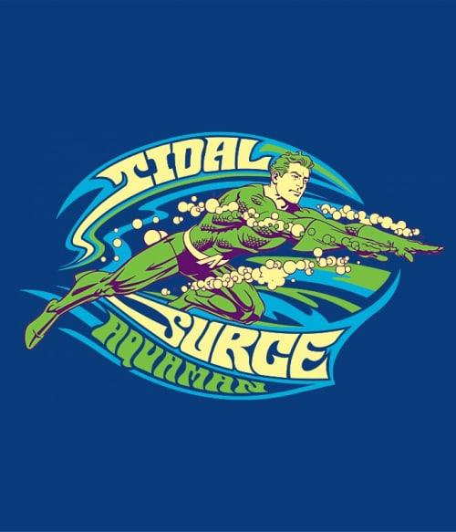 Tidal Surge Póló - Ha Aquaman rajongó ezeket a pólókat tuti imádni fogod!