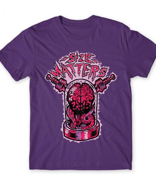Size matters Póló - Ha The Big Bang Theory rajongó ezeket a pólókat tuti imádni fogod!