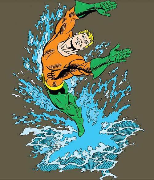 Aquaman Splash Póló - Ha Aquaman rajongó ezeket a pólókat tuti imádni fogod!