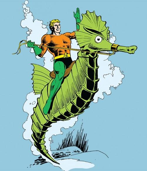 Seahorse Aquaman Póló - Ha Aquaman rajongó ezeket a pólókat tuti imádni fogod!