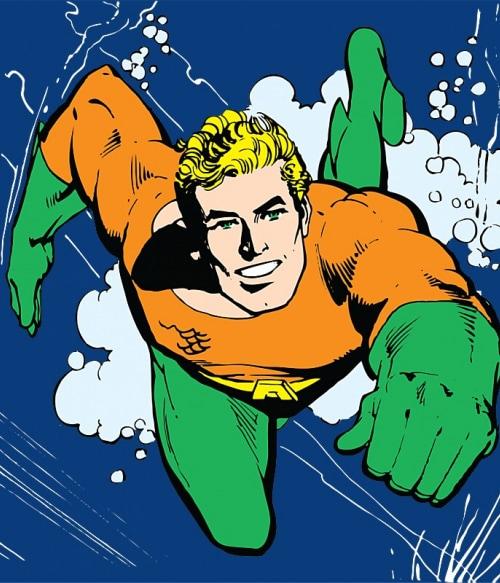 Aquaman in action Póló - Ha Aquaman rajongó ezeket a pólókat tuti imádni fogod!