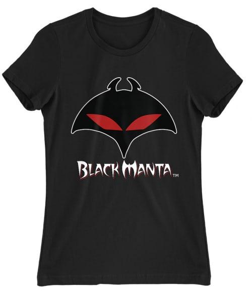 Black Manta Logo Póló - Ha Aquaman rajongó ezeket a pólókat tuti imádni fogod!