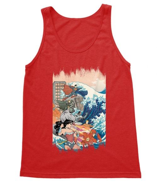 Heroes and the Great Wave Póló - Ha Wonder Woman rajongó ezeket a pólókat tuti imádni fogod!