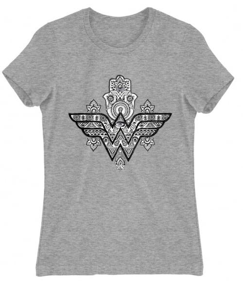 Wonder Woman Hamsa Hand Póló - Ha Wonder Woman rajongó ezeket a pólókat tuti imádni fogod!