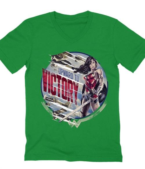 Upward to Victory Póló - Ha Wonder Woman rajongó ezeket a pólókat tuti imádni fogod!