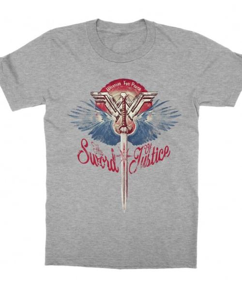 The Sword of Justice Póló - Ha Wonder Woman rajongó ezeket a pólókat tuti imádni fogod!