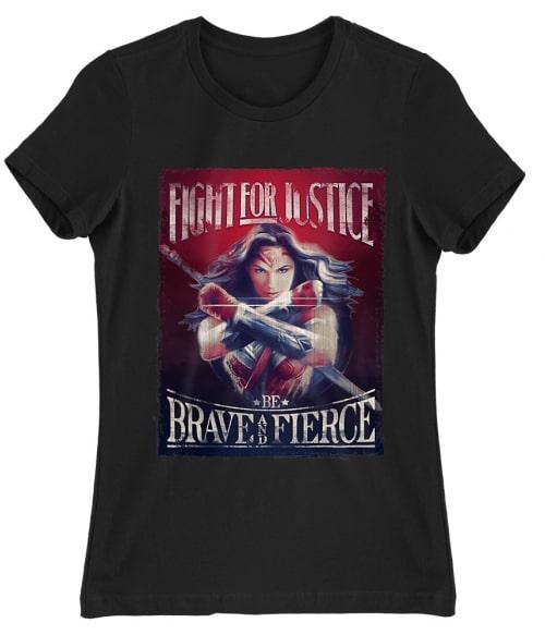 Wonder Woman Poster Póló - Ha Wonder Woman rajongó ezeket a pólókat tuti imádni fogod!