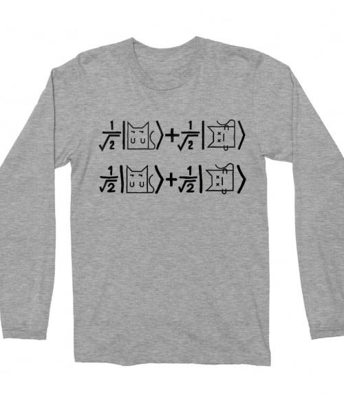 Schrödinger's cat equation Póló - Ha The Big Bang Theory rajongó ezeket a pólókat tuti imádni fogod!