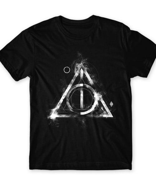 Deathly hallows symbol Póló - Ha Harry Potter rajongó ezeket a pólókat tuti imádni fogod!