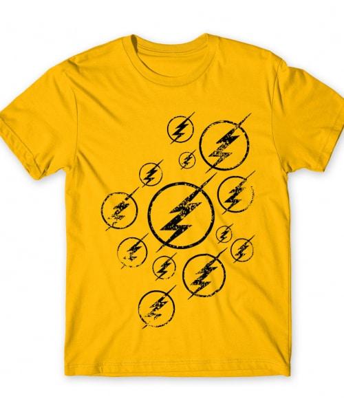 Flash Icons Póló - Ha Flash rajongó ezeket a pólókat tuti imádni fogod!