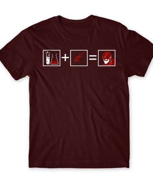 Flash Equation Póló - Ha Flash rajongó ezeket a pólókat tuti imádni fogod!