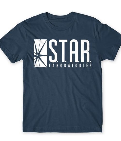 Star Laboratories Póló - Ha Flash rajongó ezeket a pólókat tuti imádni fogod!