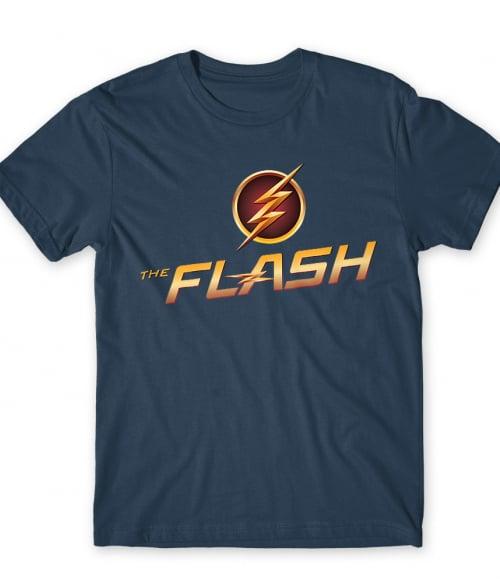 The Flash Logo Póló - Ha Flash rajongó ezeket a pólókat tuti imádni fogod!