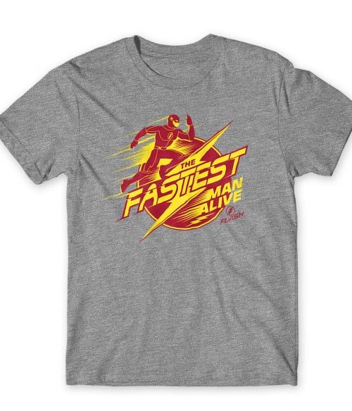 The Fastest Man Alive Póló - Ha Flash rajongó ezeket a pólókat tuti imádni fogod!