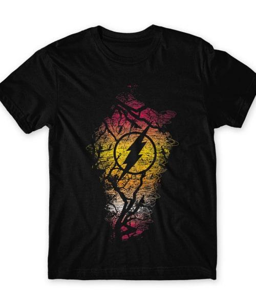 Grunge Flash Póló - Ha Flash rajongó ezeket a pólókat tuti imádni fogod!