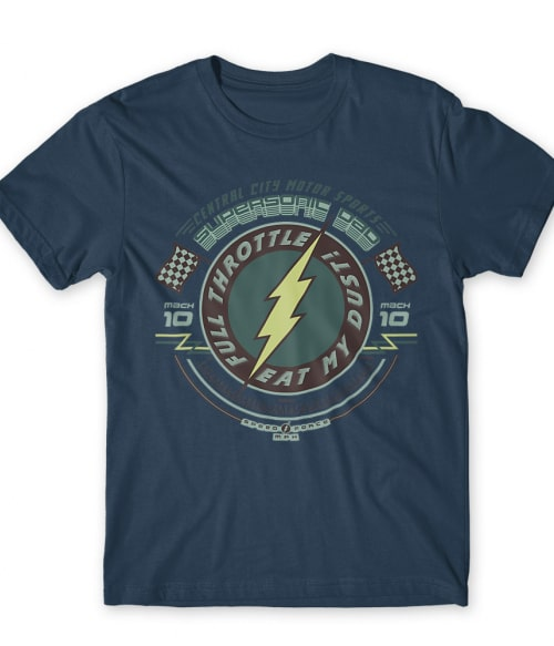 Supersonic Dad Póló - Ha Flash rajongó ezeket a pólókat tuti imádni fogod!