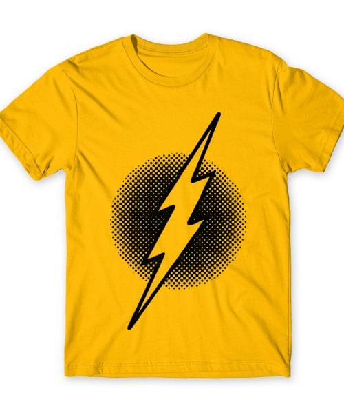 Dotted Flash Logo Póló - Ha Flash rajongó ezeket a pólókat tuti imádni fogod!