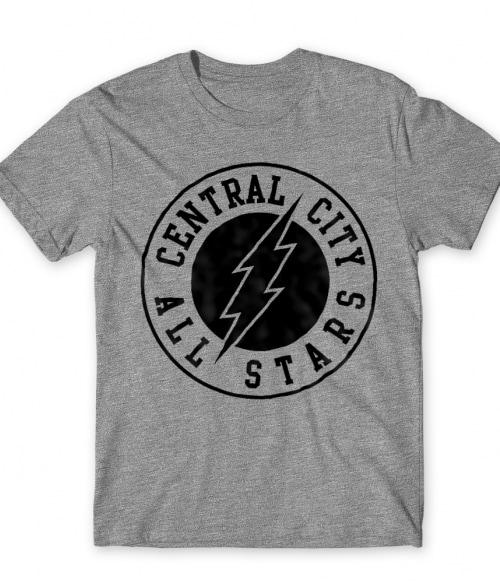 Central City All Star Póló - Ha Flash rajongó ezeket a pólókat tuti imádni fogod!