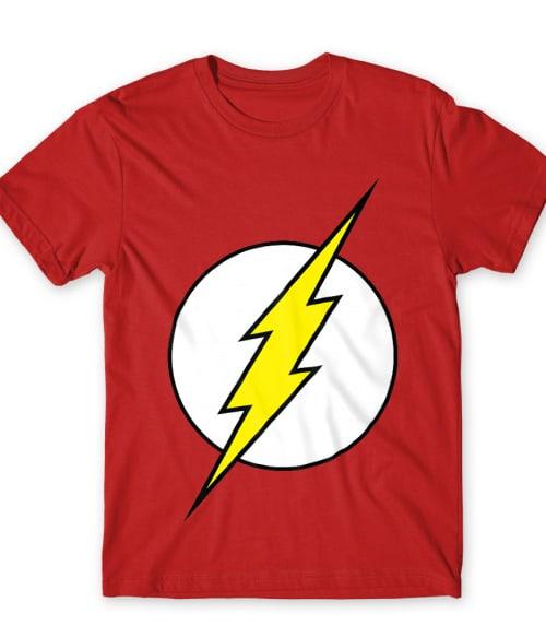 Flash Logo Póló - Ha Flash rajongó ezeket a pólókat tuti imádni fogod!