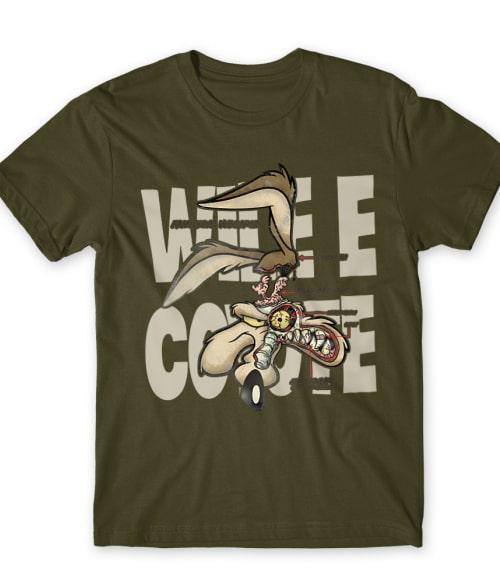 Wile E. Coyote Póló - Ha Looney Tunes rajongó ezeket a pólókat tuti imádni fogod!