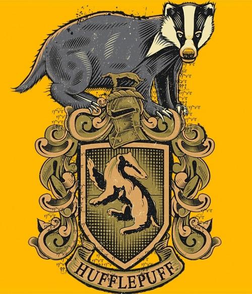 Hufflepuff Póló - Ha Harry Potter rajongó ezeket a pólókat tuti imádni fogod!