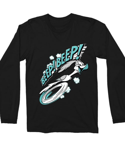 Beep! Beep! Road Runner Póló - Ha Looney Tunes rajongó ezeket a pólókat tuti imádni fogod!