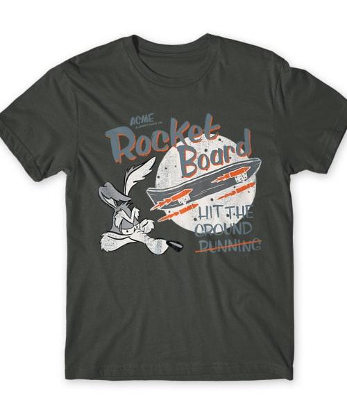 Rocket Board Póló - Ha Looney Tunes rajongó ezeket a pólókat tuti imádni fogod!